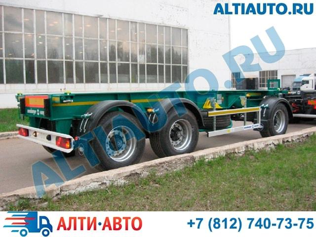 7d97954a46b80 Продажа прицепов для транспортировки 20 футовых контейнеров в СПб